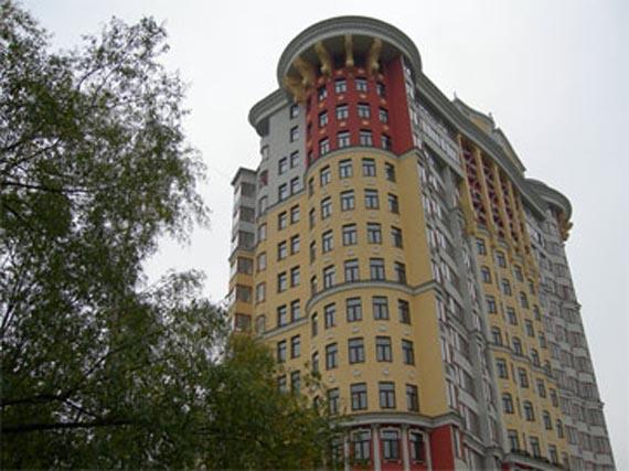 Жилой комплекс Белый лебедь, улица Мичуринский проспект, дом 6